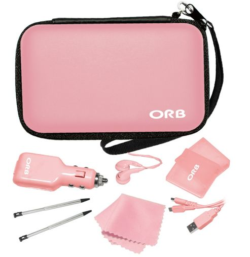 3DS/DSI Accessory Pack (Pink)