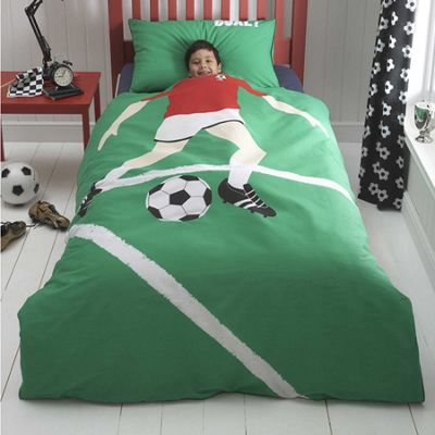 Football Star Toddler Bedding BUNDLE, Red. 4.5 tog