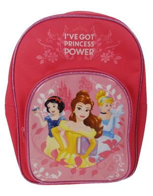 Disney Princess 'Power' Arch Pocket School Bag Rucksack Backpack