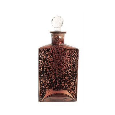 Antique Copper Apothecary Bottle