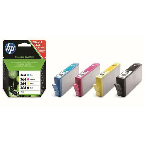 HP 364 Combo Pack Ink Cartridges - Cyan/Magenta/Yellow