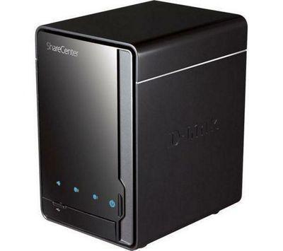 D-Link ShareCenter Pulse (0TB) 2-Bay SATA II Network Storage Enclosure
