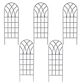 Set of 5 x Classic Design Metal Trellis (183cm x 61cm)
