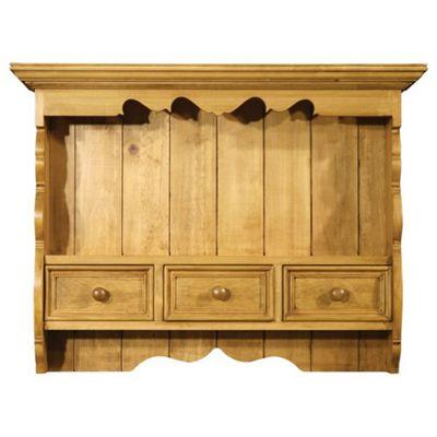 Alterton Furniture 3 Drawer Wallrack - Unfinished
