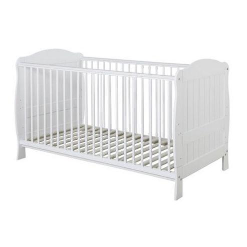 Baby Elegance Blanco Cot Bed