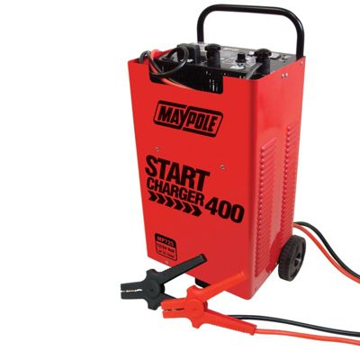Vehicle Start Charger 400 (300 amp boost, 50 amp battery charger)