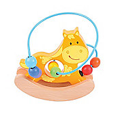 Bigjigs Toys Rocking Bead Frame (Horse)