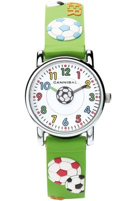 Cannibal Kids Boys Green Rubber Strap Watch CK198-11