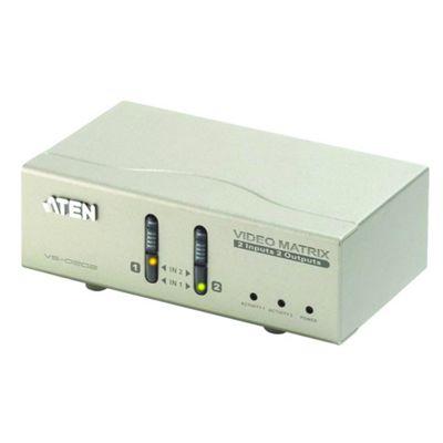 2-PC 2-VGA KVM Matrix Switch