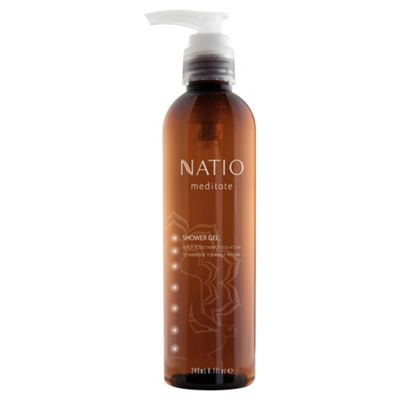 Natio Meditate Shower Gel Narcissus