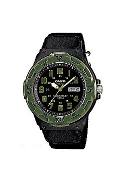 buy men s watches from our men s watches range tesco casio mens resin day date watch mrw 200hb 1bvef