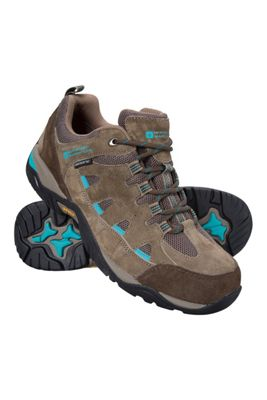 Mountain Warehouse Crest Womens Waterproof IsoGrip Shoes ( Size: Adult 06 )