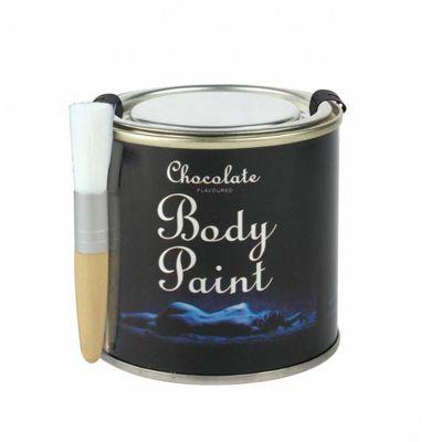 Chocolate Body Paint Tin