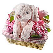 Deluxe Baby Girl Gift Flower Basket