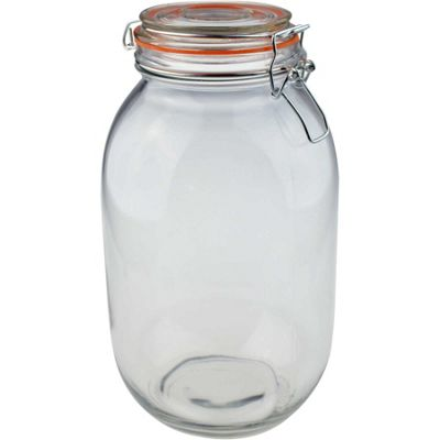 Argon Tableware Preserving / Biscuit Glass Storage Jar - 3000ml