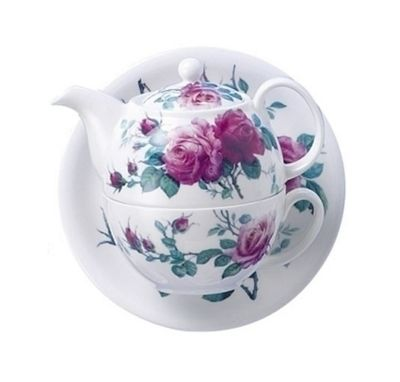 Roy Kirkham English Rose Teapot for One