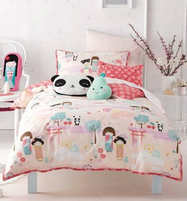 Oriental Panda Toddler Bedlinen - Hiccups 100% Cotton