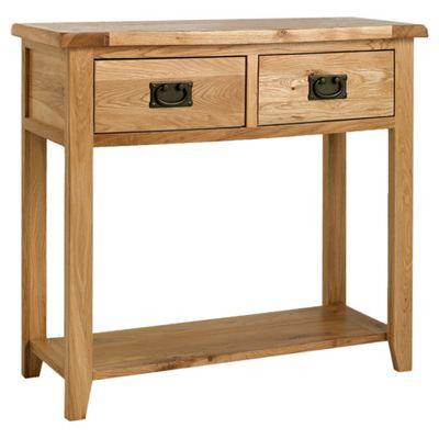 Ametis Westbury Reclaimed Oak Console Table