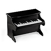 Viga Wooden My First Piano - Black
