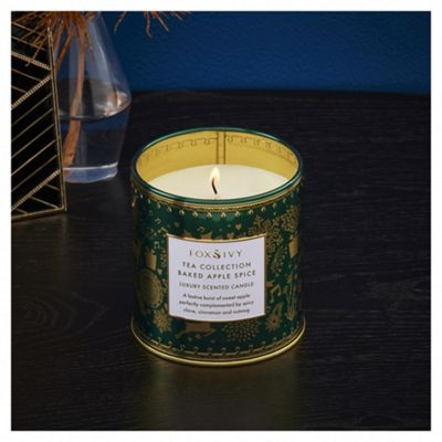 Fox & Ivy Baked Apple Spice Filled Candle