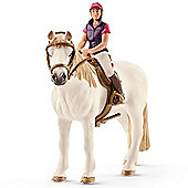Schleich Recreational Rider with Horse