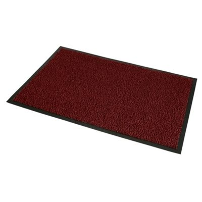 Commodore Red & Black Door Mat - 60x80cm