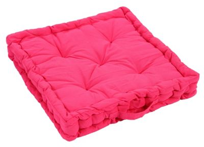 EHC Cotton Booster Cushions, Hot Pink