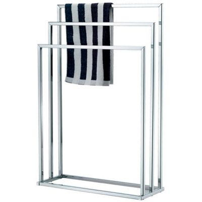 Techstyle Metal 3 Rung Towel Rail / Drying Rack