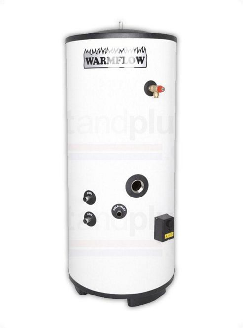 Warmflow INDIRECT Unvented Stainless Steel Hot Water Cylinder 120 LITRE