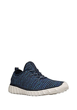 F&F Knitted Trainers - Navy