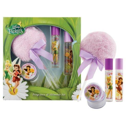 Disney  Fairies Fragrance & Shimmer Set