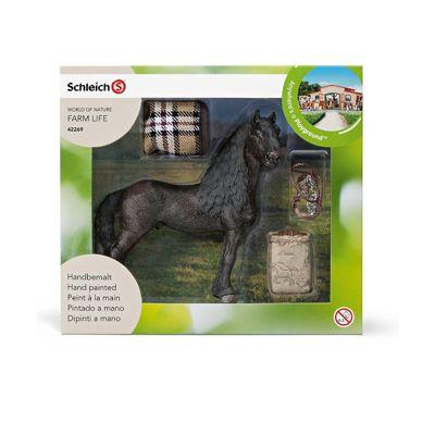 Schleich Horse care set, Frisian
