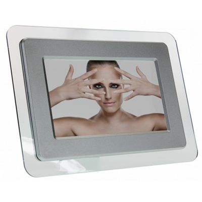 Buy 7 inch Digital Photo Frame Silver from our All Frames range - Tesco