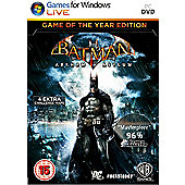 Batman Arkham Asylum - Game Of The Year Edition (GOTY) - PC
