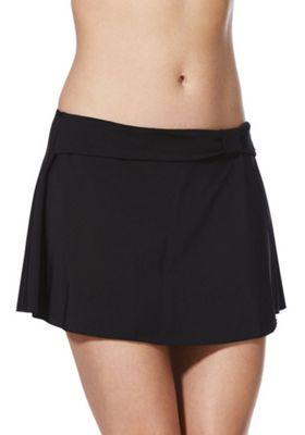 F&F Shaping Swimwear Skirted Bikini Briefs Black 8