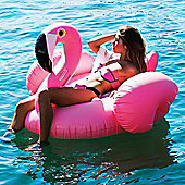 Giant Single Sized Inflatable Flamingo Pool Float Swimming Pool Lounger Bed for Adults & Kids