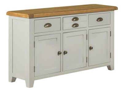 Arklow - Painted Oak Sideboard / Grey Large Sideboard