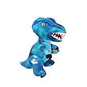 Jurassic World Dinosaur Plush Soft Toy 24cms (Blue Velociraptor)