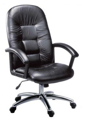 Modal Oxford High Back Leather Faced Executive Chair