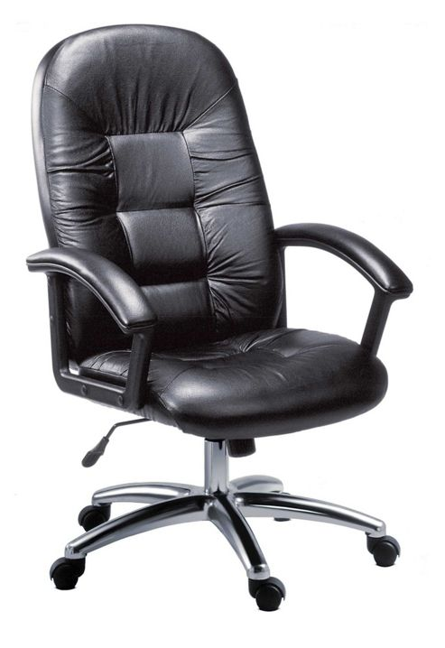 Modal Oxford High Back Leather Faced Executive Chair
