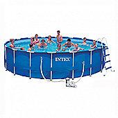 """Intex Metal Frame Pool Package 18ft x 48"""" - 28252"""