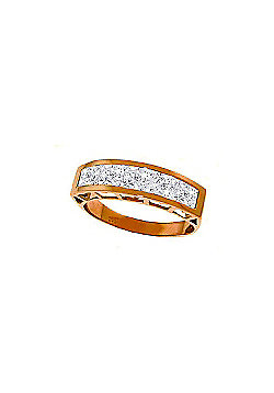 QP Jewellers 2.25ct Aquamarine Prestige Ring in 14K Rose Gold