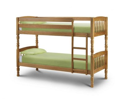 Julian Bowen Lincoln Bunk Bed Frame - Single
