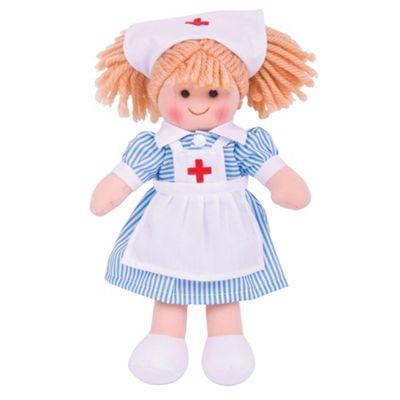 Bigjigs Toys Nurse Nancy 28cm Doll