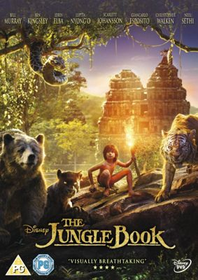 Jungle Book Live Action DVD