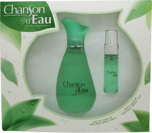 Coty Chanson d'Eau Gift Set 100ml EDT + 15ml EDT For Women