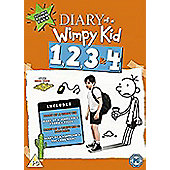 Diary Of A Wimpy Kid 1-4 Boxset Dvd