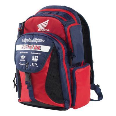 TroyLee Ignition Backpack Team Red/Navy