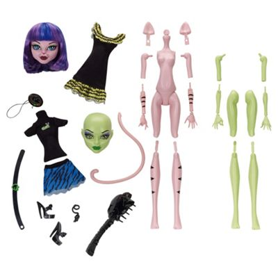 Monster High Create a Monster Witch Cat Girl Doll