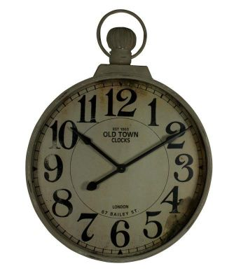 alterton furniture giant fob watch wall clock